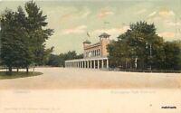 C-1905 Washington Park Refectory Chicago Illinois Teich undivided postcard 4649