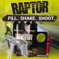 U-POL RAPTOR Tough Protective Coating Bed Liner Coating Tintable 2L Kit w/ Gun