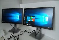 "Dell P2214H 22""LED IPS Dual Monitor 1080p VGA DP DVI 4-Port USB P2214Hb KW14V"