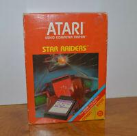 VINTAGE ATARI 2600 STAR RAIDERS VIDEO GAME COMPLETE NEW UNUSED 1982