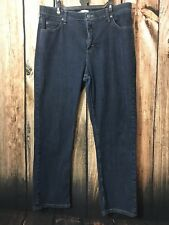 Riders Women's Blue Relaxed Jeans Denim Pants Size 16 P