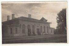 Latvia Railroad Station BENE Real Photo PC Fine Cancels ILE & BENE 1929
