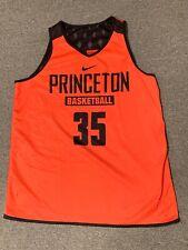 Nike Princeton Basketball Reversible Jersey Sz XL Tigers University NCAA