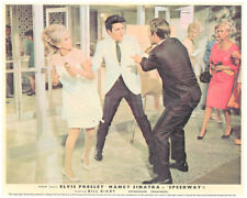 Speedway Elvis Presley Nancy Sinatra Original Lobby Card