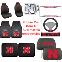 NCAA Nebraska Cornhuskers Choose Your Gear Auto Accessories Official Licensed