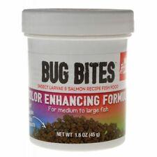 Fluval Bug Bites Color Enhancing Formula for Medium-Large Fish 1.6 oz