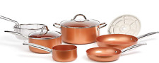 Copper Chef Cookware 9-Pc. Round Pan Set, Aluminum and Steel with Ceramic Non-St