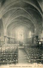 Carte BOISSY SOUS SAINT YON L'église
