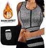 Neoprene Sauna Sweat Belt Waist Trainer Sport Vest Body Shaper Underbust Trimmer