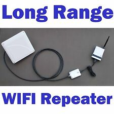 SuperLinxs Long Range Outdoor WIFI Extender Repeater Antenna Router Combo 802.11