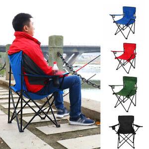 Fold Away Camping Chairs Lightweight Fishing Chair Beach Garden Party BBQ Event