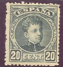 1901 ALFONSO XIII TIPO CADETE EDIFIL 247 * MH LUJO MARQUILLADO  TC11028
