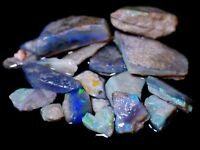 205 Carats Australian Mintabie Rough Opals SEE VIDEO