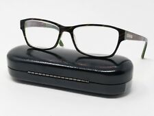 7f6b9cc586 Prodesign Denmark Eyeglass Frames Brown Green Full Rim Rectangular  52  16-140