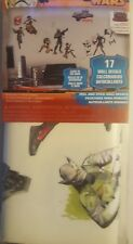 Star Wars Rebels 17pc Removable & Repositionable Wall Decals~Glow In The Dark