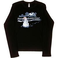 Lucy Paris Ladies Junior Fit Full-Zip Hooded T-Shirt Hoodie
