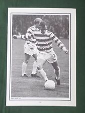 BOBBY LENNOX - CELTIC - 1 PAGE PICTURE - CLIPPING /CUTTING