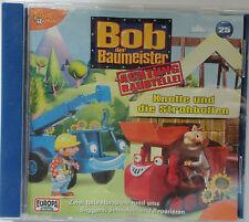 Bob der Baumeister 25 Knolle und die Strohballen. CD Hörspiel  Achtung Baustelle