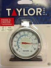 Thermometer, Refrigerator, Freezer, -20 to 80 F & -30 to 30 C, Taylor Home 3507