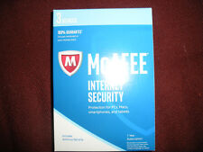 McAfee 2018 Internet Security - 3 PC / 1Year. Read listing detail before buying