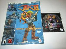 Jak II (Sony PlayStation 2, 2003) w/ Official Strategy Guide