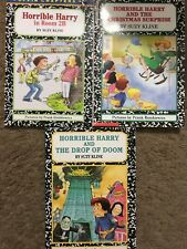 3 of Horrible Harry Books by Suzy Kline