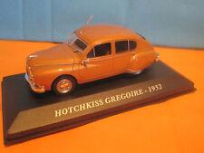 IXO 1/43 SUPERBE HOTCHKISS GREGOIRE ~~1952 NEUF BOITE P5
