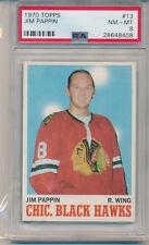 1970 Topps Hockey Pit Martin (#13) PSA8 PSA