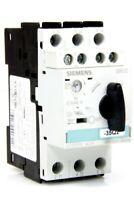 SIEMENS - Leistungsschalter 9-12,5A - 3RV1021-1KA10 + Hilfsschalter 3RV1901-1E