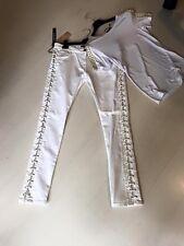 Jeans cartellinato almagores bianco