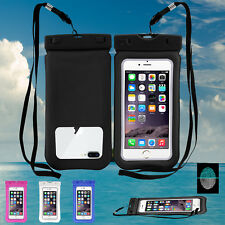 Swimming Floating Waterproof Dry Pouch Bag Underwater Phone Case Cover Pack Skin