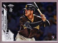 Trent Grisham San Diego Padres Rookie 2020 Topps Chrome Ben Baller Base #101 RC