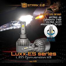 Stark 66W 7400LM Flip COB Chip LED Kit 6000K 6K Light Bulbs Fog Lights - H3 (B)