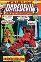 DAREDEVIL #124 VG/F, BLACK WIDOW, Marvel Comics 1975, Stock Image