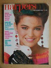 Harpers & Queen. December, 1982. Crime & Sleaze. Mario Testino etc