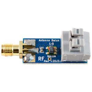 1:9 HF Antenna Balun One Nine: Tiny Low-Cost 1:9 Balun Frequency Band, Long I5I9
