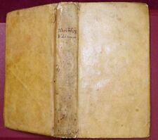NIEREMBERG: BILANCIA DEL TEMPO/ETERNITY/CATHOLIC CHURCH/SPAIN/VELLUM/ RARE 1730