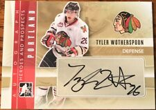 2011-12 ITG Heroes & Prospects Autographs Tyler Wotherspoon A-TW