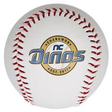 NC DINOS D Logo Baseball Korea Baseball League White KBO