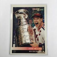 Mark Messier New York Rangers 1994 Premier Hockey Card #1 (HOF)