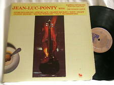 JEAN-LUC PONTY Meets GIORGIO GASLINI Steve Lacy Tony Oxley Paul Rutherford LP