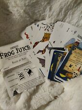 FROG JUICE CLEVER GAME OF SPELLS & CONCOCTIONS GAMEWRIGHT No Box
