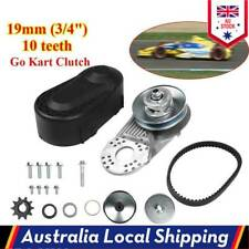 10 Teeth Go Kart Torque Converter System Assembly Replacement Set Kit AU