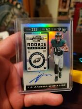 2019 Contenders Optic JJ Arcega Whitedside on card auto prizm beautiful card