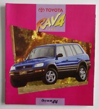 TOYOTA RAV4 1997 dealer brochure catalog - French - Canada