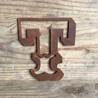 Rustic BARBERS letter Sign Rusted Metal vintage Industrial Shop Barbershop Shave