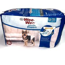 Wee-Wee Products Disposable Dog Diapers 12 Pack Large X-Large Nip