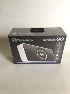 Bayan Audio soundbook Go, white, NFC compatible, Bluetooth technology. New
