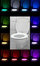 LED Toiletten Licht Klolicht bunter WC Sitz Bewegungssensor Toilettenbeleuchtung