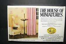 """THE HOUSE OF MINIATURES Queen Anne Candle Stand kit #40013 1"""" to 1' 1/12 scale"""